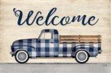 Welcome Truck Art Print