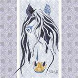 Bluestar the Horse Art Print