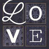 LOVE Squared Art Print