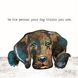 Be the Person Art Print