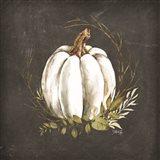White Pumpkin Art Print