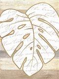 Coastal Leaf I Art Print