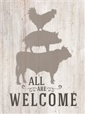 All Our Welcome Art Print