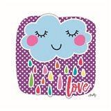 Love Cloud Art Print