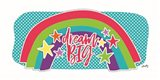 Dream Big Rainbow Art Print