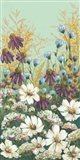 Floral Field Day Art Print