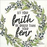 Let Your Faith be Bigger Art Print