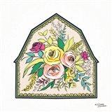 Floral Barn Art Print