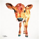 Cute Little Calf Art Print