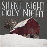 Silent Night Holy Night Art Print