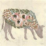 Annabelle the Cow Art Print