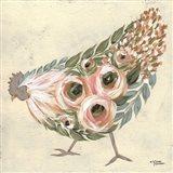 Astrid the Hen Art Print