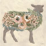 Audrey the Lamb Art Print