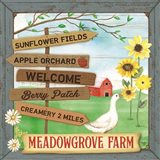 Meadowgrove Farm Art Print