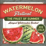 Watermelon Festival Art Print
