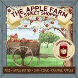 The Apple Farm & Sweet Shoppe Art Print