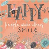 Happy People Art Print