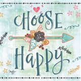Choose Happy Art Print