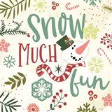 Snow Much Fun Art Print