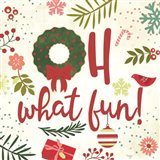 Oh What Fun! Art Print