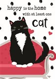 At Least One Cat Art Print