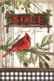 Noel Cardinal Art Print
