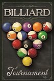 Billiards Tournament Art Print