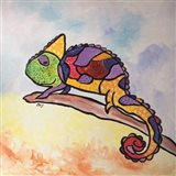 Colorful Creature Art Print