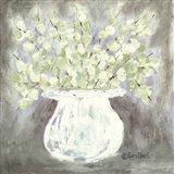 The White Vase Art Print