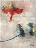 The Birds I Art Print