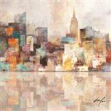 NYC Riverside Art Print