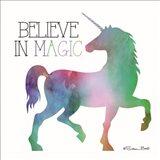 Believe in Magic Unicorn Art Print