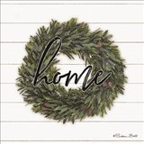 Home Wreath Art Print