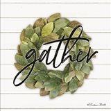 Gather Wreath Art Print