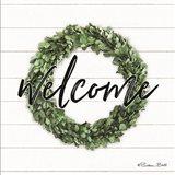 Welcome Wreath Art Print