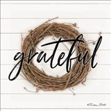 Grateful Wreath Art Print