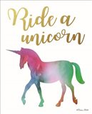 Ride a Unicorn Art Print