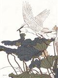 Egret in Flight Art Print