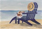 Beach Chairs 2 Art Print