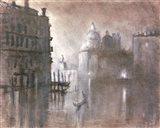 Moonlight Over Venice 2 Art Print