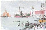 Port of Venice Art Print