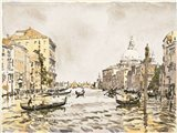 Afternoon on the Great Canal Art Print