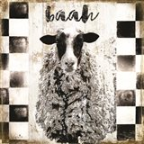 Farm Family Sheep Art Print