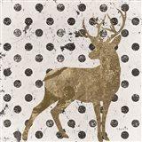 Forest Glam Deer Art Print
