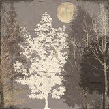 Moon Trees II Art Print