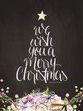 We Wish You a Merry Christmas Art Print