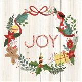 Peppermint Joy Art Print