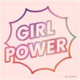 Girl Power I Art Print