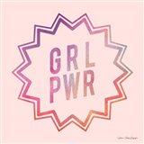 Girl Power II Art Print