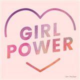 Girl Power III Art Print